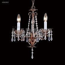 Mini 4 arm chandelier 40824s22 good friend electric james r moder 40683vb22 3 arm mini crystal chandelier aloadofball Image collections