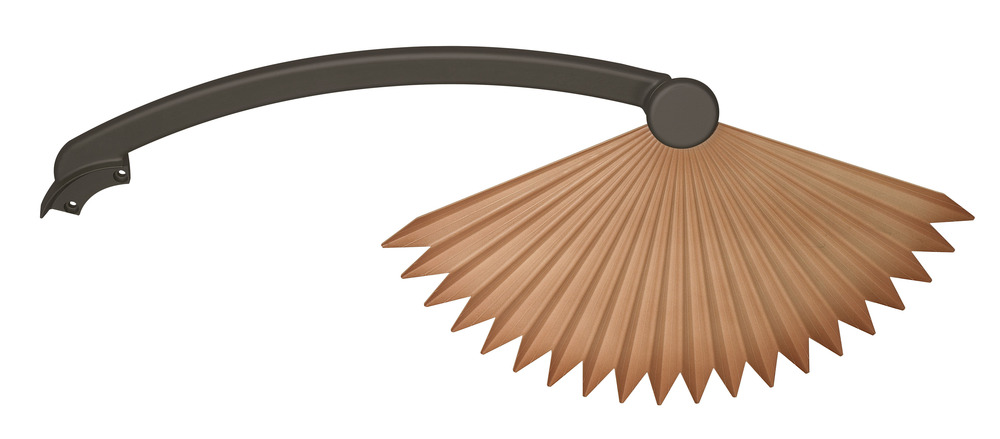 22-Inch Set of 5 Fanimation BPP1TN Wide Oval Composite Palm Blade